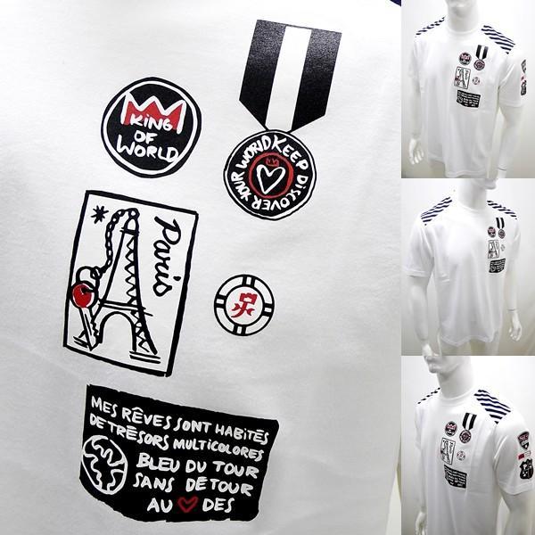 カステルバジャック アウトレット ¥20000+税 [L/48]半袖 Tシャツ メンズ KING OF WORLD PARIS Swiss Ctton Premium 90203022  jcTCsm 21070|proud|05