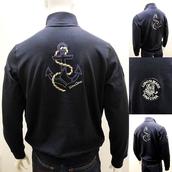 シナコバ ¥39000+税 [L]トラック ジャケット メンズ バックショットモデル SINACOVA GENOVA STYLE 90207001         scTCsm 19123010|proud|04