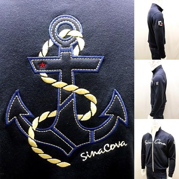 シナコバ ¥39000+税 [LL]トラック ジャケット メンズ バックショットモデル SINACOVA GENOVA STYLE 90207002         scTCsm 19123010|proud|06