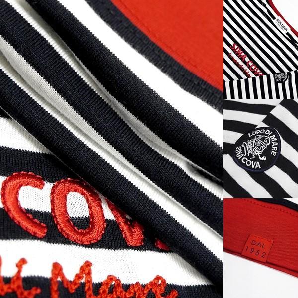 シナコバ レディース ¥15000+税 [9号]長袖 Tシャツ マリンボーダー バスクシャツスタイル 90207009            scTCsl 19180010|proud|07