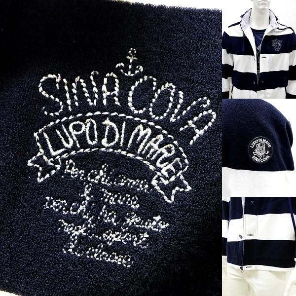 シナコバ ¥45000+税 [LL] ジャケット メンズ ファブリックチェンジ マリンボーダースタイル SINACOVA SARDEGNA 90207013            scTCm 19113050|proud|06