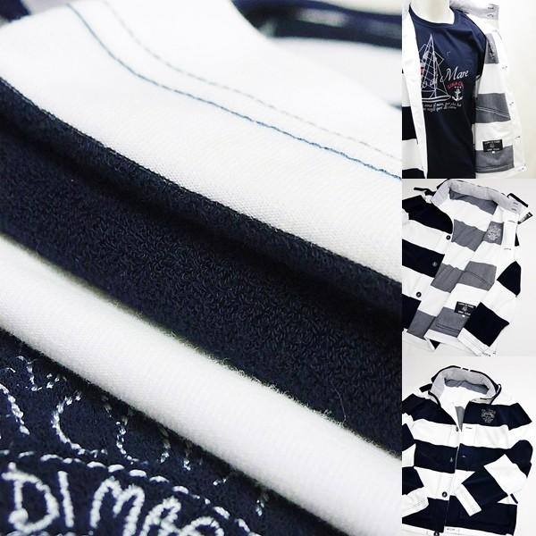 シナコバ ¥45000+税 [LL] ジャケット メンズ ファブリックチェンジ マリンボーダースタイル SINACOVA SARDEGNA 90207013            scTCm 19113050|proud|09