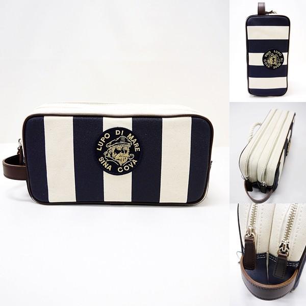 シナコバ ¥28000+税 [F] セカンド バッグ メンズ 帆布 Wファスナー アイコンリアルロープデザイン 90207039        scTCsm 19177020|proud|02
