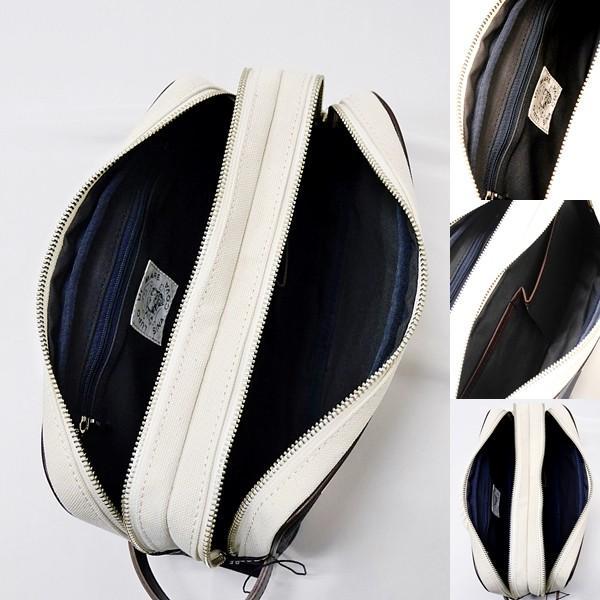 シナコバ ¥28000+税 [F] セカンド バッグ メンズ 帆布 Wファスナー アイコンリアルロープデザイン 90207039        scTCsm 19177020|proud|06
