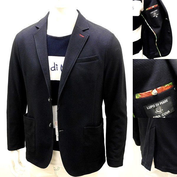 シナコバ ¥43000+税 [L] ジャケット メンズ  CooL MaX サマーイージー テーラード SINACOVA PORTOFINO 90207045    scTCm 19133060|proud|06