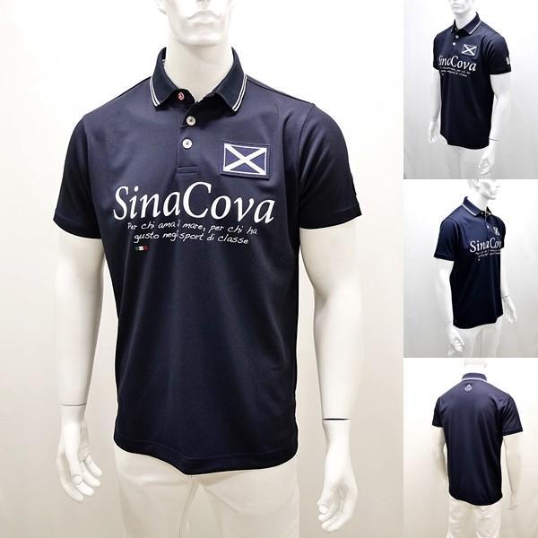 シナコバ ¥22000+税 [LL]半袖 ポロシャツ メンズ Per chi amail mare SINACOVA SARDEGNA 90207052          scTCsm 19110510|proud|07