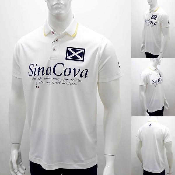 シナコバ 特選品 ¥22000+税 [L]半袖 ポロシャツ メンズ Per chi amail mare SINACOVA SARDEGNA 90207053          scTCsm 19110510|proud|02