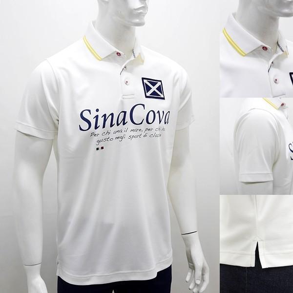シナコバ 特選品 ¥22000+税 [L]半袖 ポロシャツ メンズ Per chi amail mare SINACOVA SARDEGNA 90207053          scTCsm 19110510|proud|03