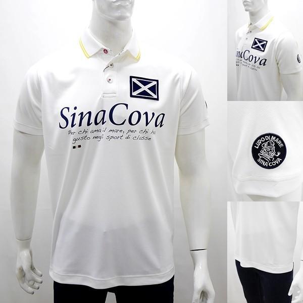 シナコバ 特選品 ¥22000+税 [L]半袖 ポロシャツ メンズ Per chi amail mare SINACOVA SARDEGNA 90207053          scTCsm 19110510|proud|05