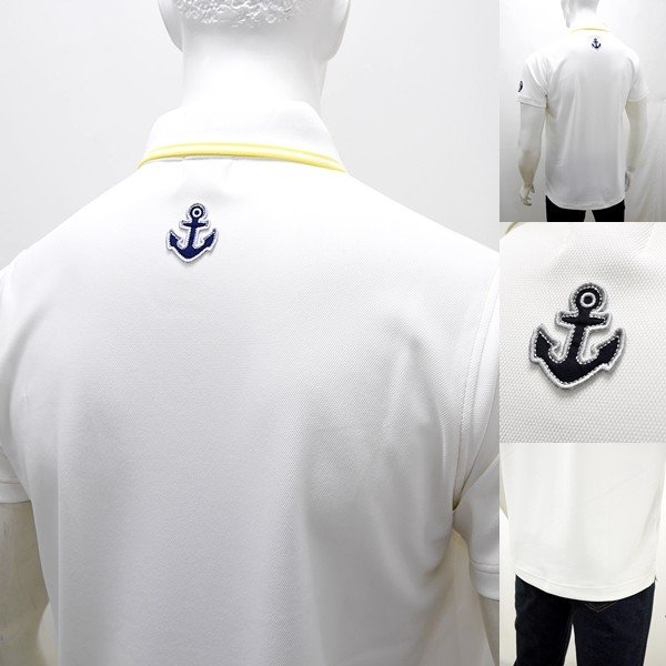 シナコバ 特選品 ¥22000+税 [L]半袖 ポロシャツ メンズ Per chi amail mare SINACOVA SARDEGNA 90207053          scTCsm 19110510|proud|06