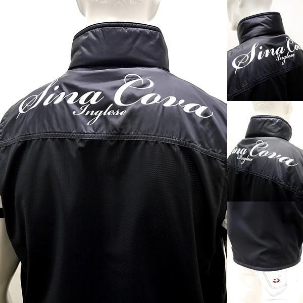 シナコバ ¥37000+税 [LL] ゴルフ ベスト メンズ バックショットモデル Dot Air 高通気性素材 SINACOVA INGLESE 90207056  scTCsm 19153510|proud|05