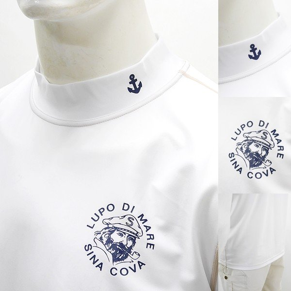 シナコバ ¥13000+税 [L]半袖 Tシャツ メンズ ラッシュガード UVケア SINACOVA  SARDEGNA 90207067                scTCsm 19111510|proud|04