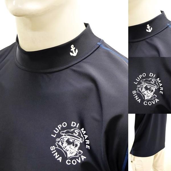 シナコバ ¥13000+税 [LL]半袖 Tシャツ メンズ ラッシュガード UVケア SINACOVA  SARDEGNA 90207070                scTCsm 19111510|proud|04