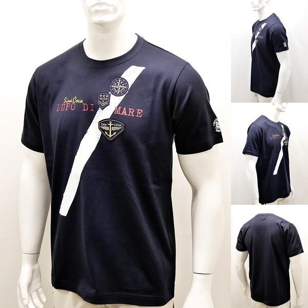 シナコバ ¥13000+税 [L]半袖 Tシャツ メンズ フロントアイコンデザイン SINACOVA SARDEGNA 90207074                scTCsm 19110540|proud|02