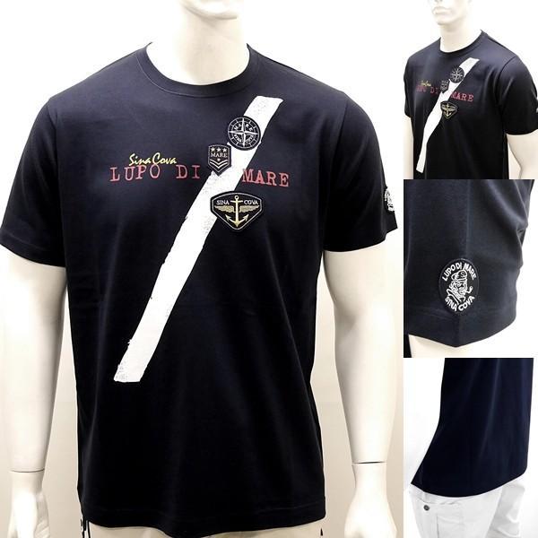 シナコバ ¥13000+税 [L]半袖 Tシャツ メンズ フロントアイコンデザイン SINACOVA SARDEGNA 90207074                scTCsm 19110540|proud|04