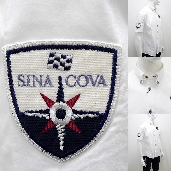 シナコバ ¥25000+税 [L]半袖 レーシング シャツ メンズ バックショットモデル SINACOVA  GENOVA 90207081      scTCsm 19124510|proud|05