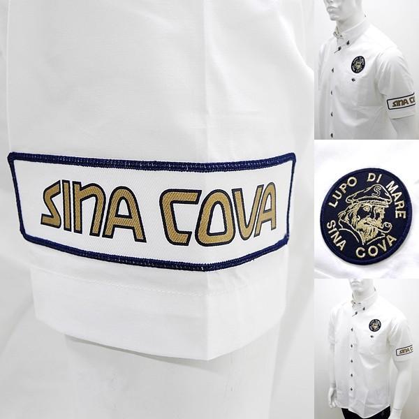 シナコバ ¥25000+税 [L]半袖 レーシング シャツ メンズ バックショットモデル SINACOVA  GENOVA 90207081      scTCsm 19124510|proud|06