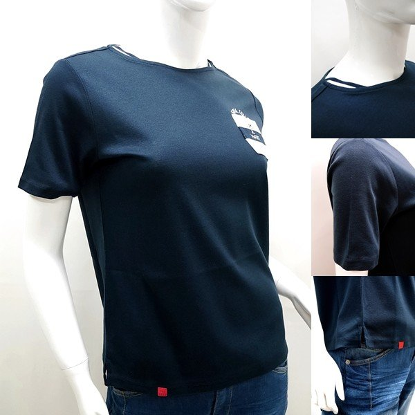 シナコバ レディース ¥15000+税 [11号]半袖 Tシャツ LUPO DI MARE 90207091           scTICs 19180550|proud|03