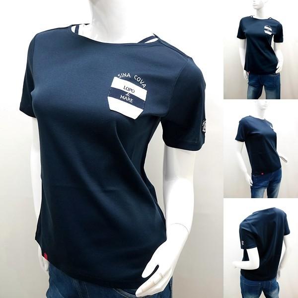 シナコバ レディース ¥15000+税 [11号]半袖 Tシャツ LUPO DI MARE 90207091           scTICs 19180550|proud|05