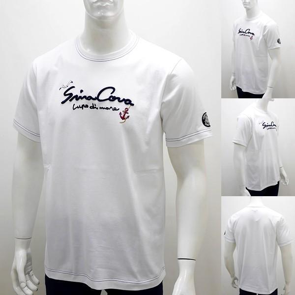 シナコバ ¥12000+税 [L]半袖 Tシャツ メンズ フロントロゴモチーフ SINACOVA  GENOVA  90207100           scTCsm 19120560|proud|02