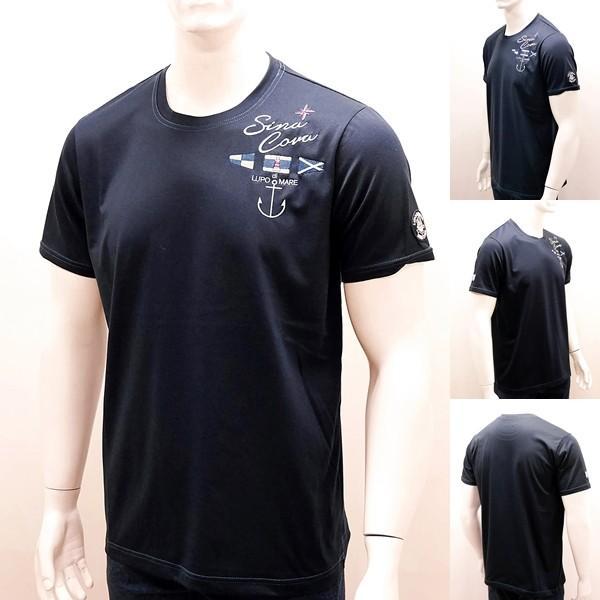 シナコバ ¥16000+税 [L]半袖 Tシャツ メンズ SPACEMASTER-UVケア SINACOVA SARDEGNA 90207102       scTCsm 19110580|proud|02