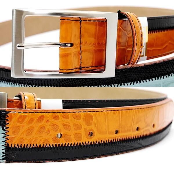 Original特選品¥14000+税 [F]牛革 ベルト メンズ カラーチェンジデザイン  日本製 90311002    aiTCs- ET 975003-RP|proud|03