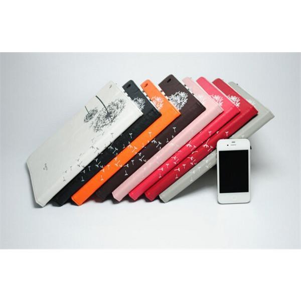 iPad2/3/4 iPad mini1/2/3 iPad air/air2ケースカバー 送料無料 アイパッド/エア/ミニ/カバー 手帳型 スタンドレザーケース リーチカラー  たんぽぽ柄 スリープ|psqyh|03