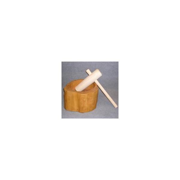 ミニ餅臼(ウス)セット1升用 キッチン 調理器具・調理道具