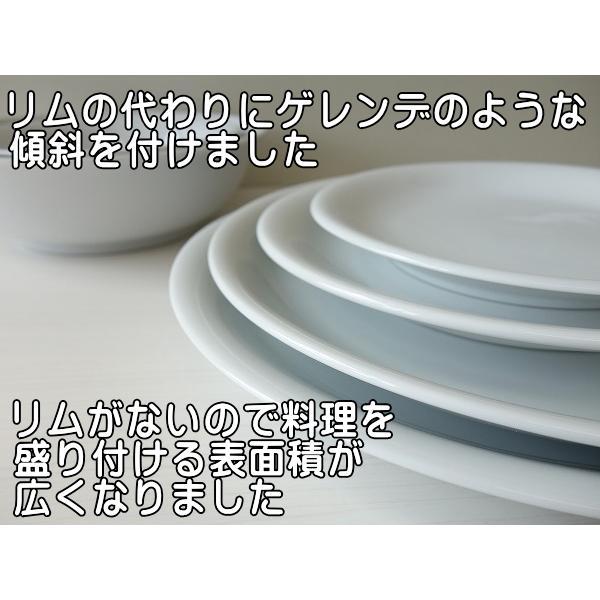 カンパネルラ24cmオーバルカレー皿/楕円皿  パスタ皿 カレーパスタ皿 食器 おしゃれ 美濃焼 日本製 業務用 北欧風 puchiecho 04