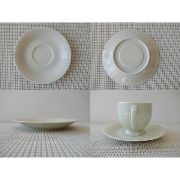 大容量キリマンジャロコーヒーカップ&ソーサー/北欧風 ティーカップ 業務用 おしゃれ 陶器 白磁|puchiecho|03