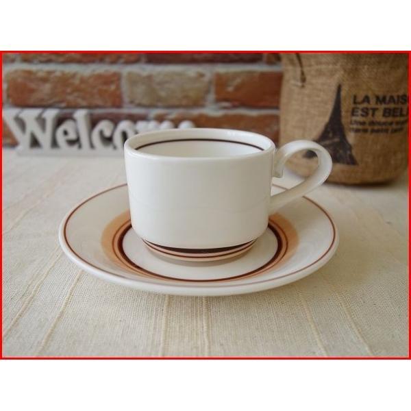 ビンテージ食器コスモシリーズダージリンティーカップ&ソーサー 昭和レトロ雑貨 北欧風 コーヒーカップ 業務用 おしゃれ 陶器|puchiecho