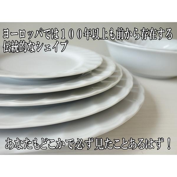 スパイラル24cmオーバルカレー皿/楕円皿  パスタ皿 カレーパスタ皿 食器 おしゃれ 美濃焼 日本製 業務用 北欧風 キャッシュレス5%還元|puchiecho|03