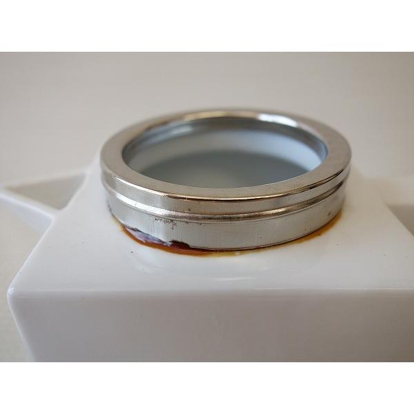 (訳あり)金具のふた付きルービックキューブ型ソース用ポット/白い食器 カフェ食器 激安 安い 砂糖入れ 美濃焼 アウトレット 日本製 おしゃれ\|puchiecho|03