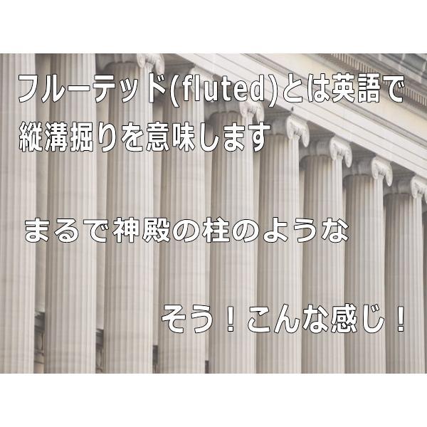 フルーテッドティーカップ&ソーサー/北欧風 ティーカップ 業務用 おしゃれ 陶器 白い食器|puchiecho|02