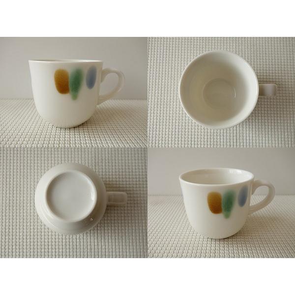 (訳あり)和色カラーバリエーションミニマグカップ(三彩)/おしゃれ 美濃焼 カフェ食器 かわいい 陶器 白い食器 シンプル\ キャッシュレス5%還元|puchiecho|02