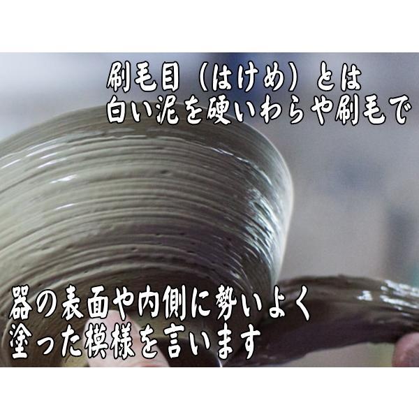 美濃刷毛目22cm櫛目長角皿/和食器 長皿 焼き物皿 美濃焼 和皿 焼き魚 皿\|puchiecho|03