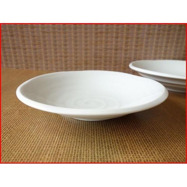 鳴門の渦潮21cmカレー皿  パスタ皿 カレーパスタ皿 和食器 和皿 おしゃれ 美濃焼 日本製 業務用 キャッシュレス5%還元|puchiecho