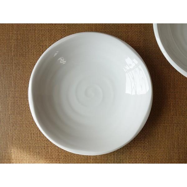 鳴門の渦潮21cmカレー皿  パスタ皿 カレーパスタ皿 和食器 和皿 おしゃれ 美濃焼 日本製 業務用 キャッシュレス5%還元|puchiecho|03