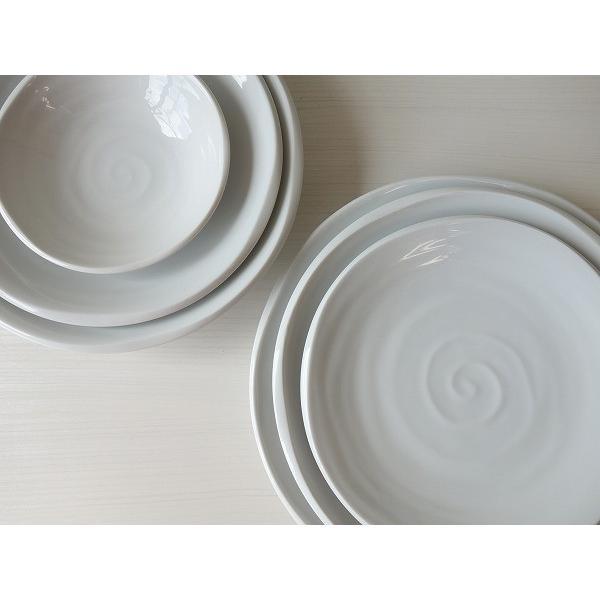 鳴門の渦潮21cmカレー皿  パスタ皿 カレーパスタ皿 和食器 和皿 おしゃれ 美濃焼 日本製 業務用 キャッシュレス5%還元|puchiecho|04