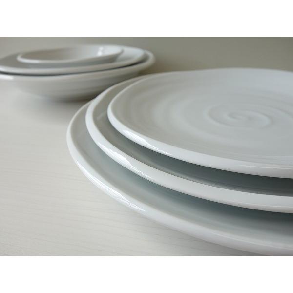 鳴門の渦潮21cmカレー皿  パスタ皿 カレーパスタ皿 和食器 和皿 おしゃれ 美濃焼 日本製 業務用 キャッシュレス5%還元|puchiecho|05
