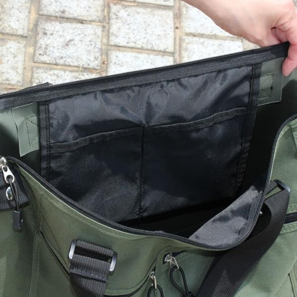 トートバッグ ビジネス 大きい 大容量 バッグ ボストンバッグ 持ち手の長さが調節できる 旅行用 軽量 書類 メンズ レディース A4 B3 B4 A3|puchikobe|14