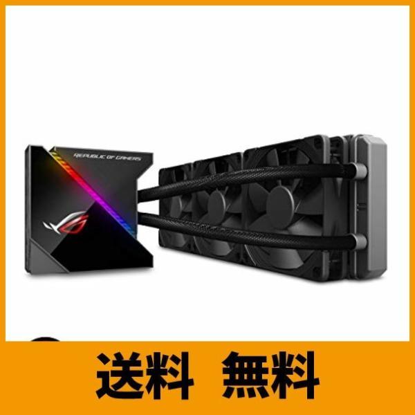 ASUS オールインワン型水冷 ユニット CPUクーラー ROG RYUJIN 360 / color OLED/Aura Sync RGB/120m|puchiplus