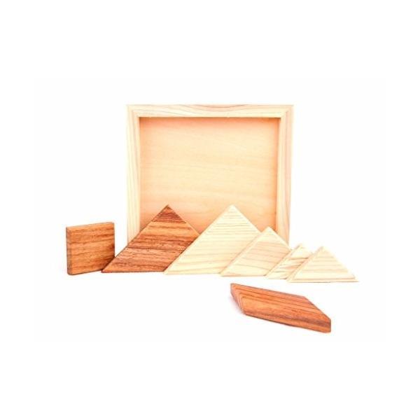 HD-008 木製パズル 国産桧 組み合わせパズル タングラム pulsejapan 03