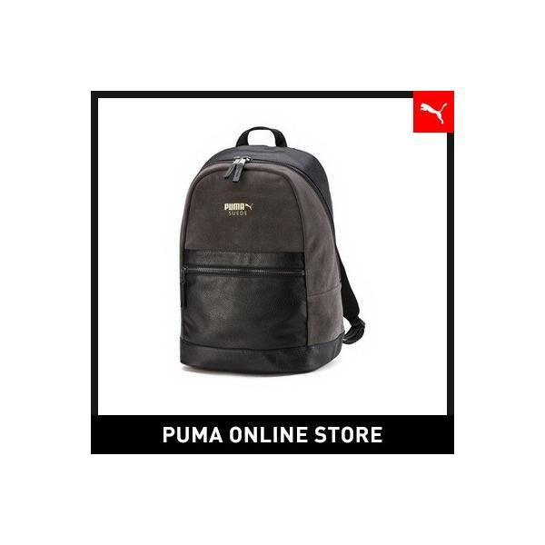 7cc589ceb37d プーマ PUMA PUMA SUEDE BACKPACK LUX 男女兼用 スウェード バッグ バックパック リュック puma ...