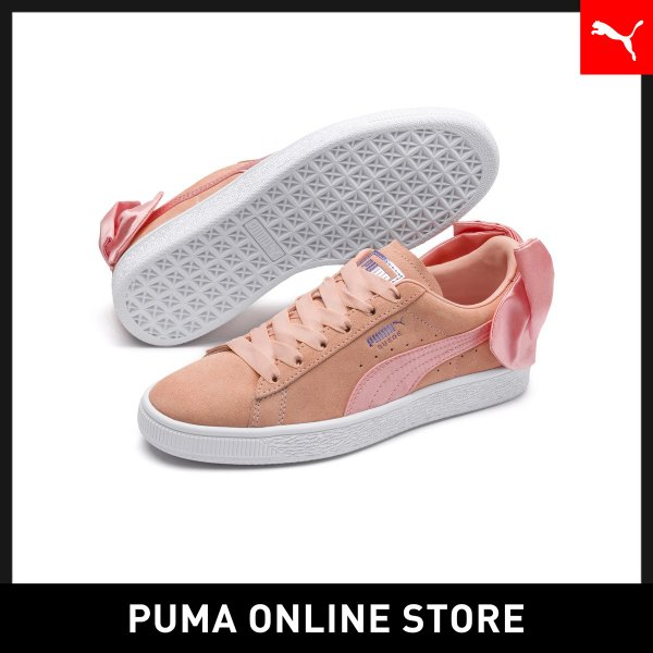 Peach Bud-Puma White