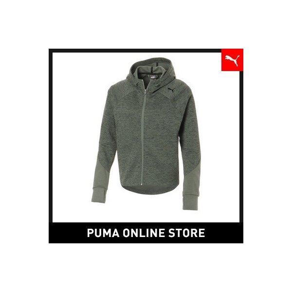 プーマ PUMA EVOSTRIPE フーデッドジャケットレディース トップス パーカー|puma