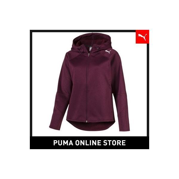 プーマ PUMA EVOSTRIPE フーデッドジャケット レディース トップス パーカー|puma