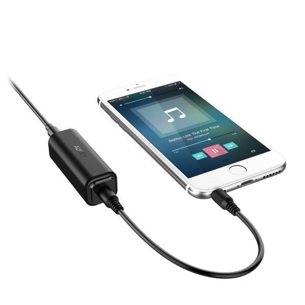 AUKEY グランドループアイソレーター ノイズフィルタ 3.5mm対応ホームオーディオ、カーステレオシステムで使用可能 GI-L1|pumpkintetsuko83|05