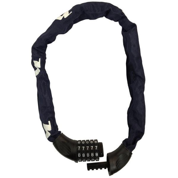 ニッコー(NIKKO) 5桁ダイヤル式チェーンロック (開錠番号変更可能) N661C750BL インディゴブルー 線径φ6mmチェーン×750mm pumpkintetsuko83