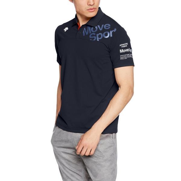 [デサント] トレーニング タフポロライト COOL ポロシャツ MOVESPORTS DMMLJA71 ENV M|punipunimall